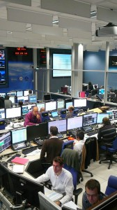 Docking simulation training at ATV-CC 26 January 2012. Credit: ESA/J. Harrod