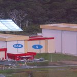 S5B hall at CSG Kourou with ATV-3 inside for fuelling. Credit: ESA/C. Beskow
