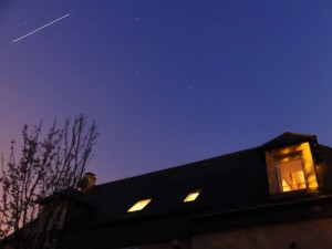 ISS over Les Andelys, France, 25 March 2012 at 06:53 Credit: Stéphane Colas