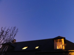 ATV- 3 over Les Andelys, France, 25 March 2012 at 06:55CEST Credit: Stéphane Colas