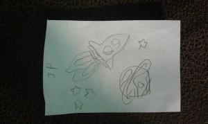 Rocket Sketch Credit: Todd's kids