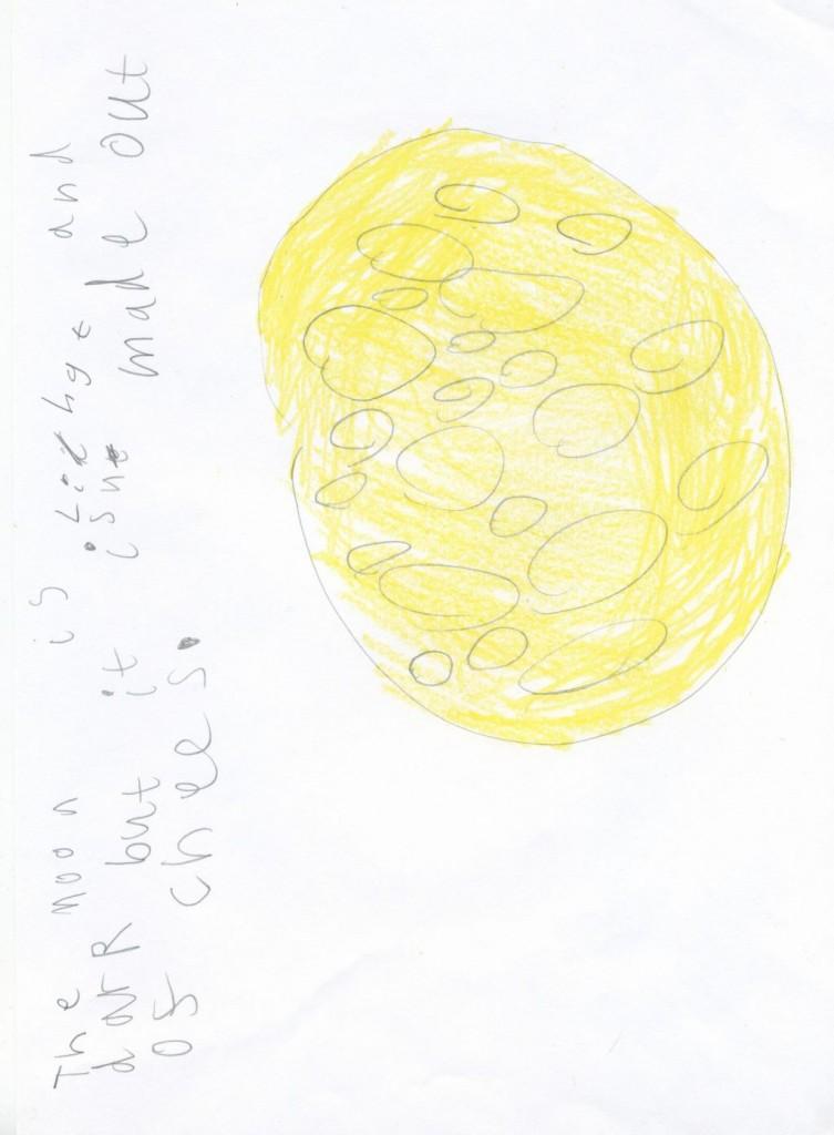 Jeaniibean's Moon Credit: Jean Rose Pym, age 6