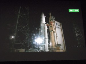 ATV-3 launch on board Ariane 5 VA205 05:34 CET 23 March 2012