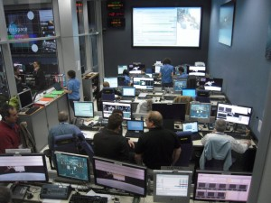 Engineering Support Team (EST) room at ATV-CC for ATV-3 launch Credit: ESA/C. Beskow