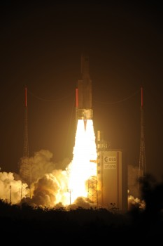 Liftoff of Ariane 5 VA205 with ATV-3 Credit: ESA - S. Corvaja, 2012