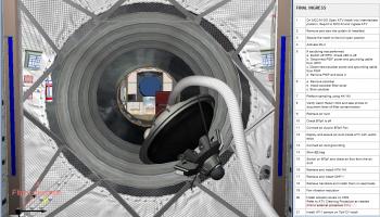 ATV training for astronauts Credit: ESA