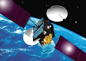 ESA's Artemis data relay satellite Credit: ESA