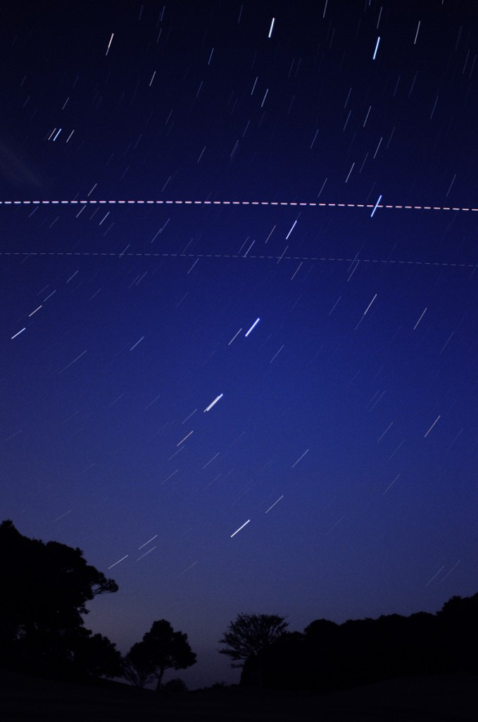 ATV-3 & ISS seen in orbit 2 October 2012 over Chiba, Japan. Credit/Copyright: Y. Suzuki