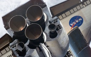 Space Shuttle thrusters