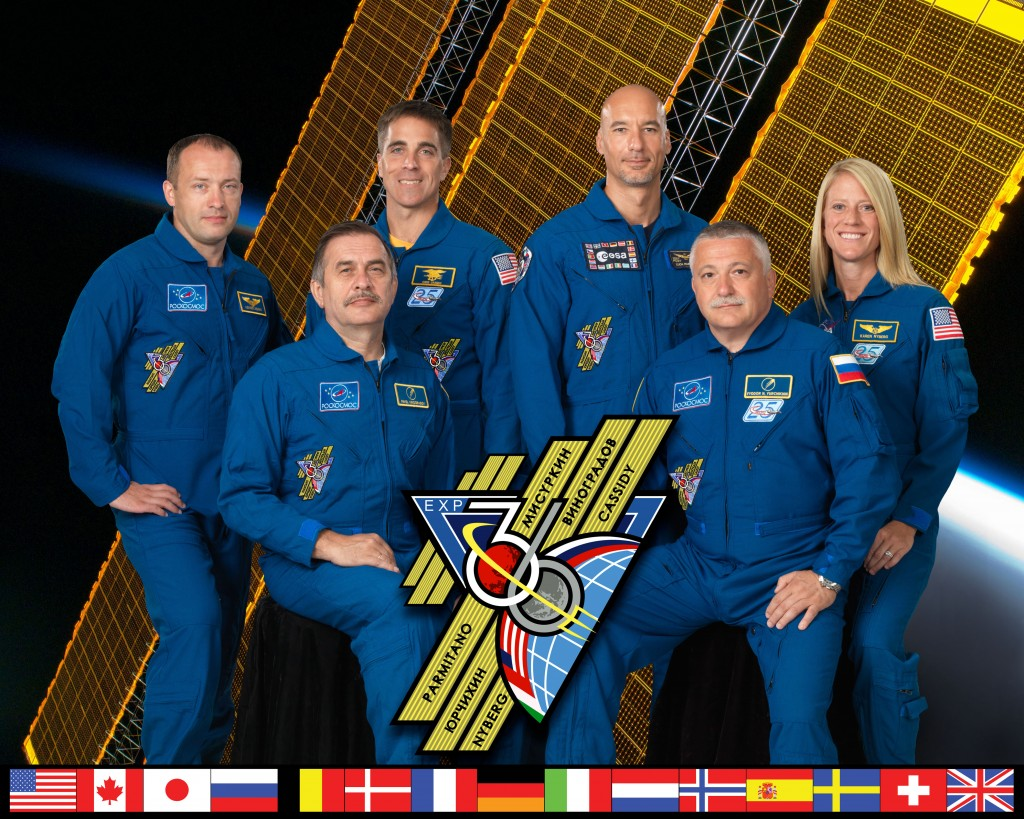Expedition 36 crew members Credit: NASA