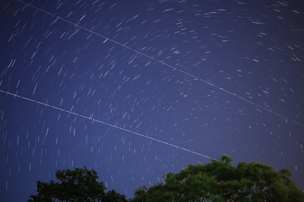 ATV-4 and ISS seen over Fukuoka JP 6 June 2013 Credit: Yumiko Kuribayashi