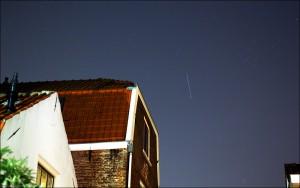 ATV-4 seen in orbit shortly after launch 6 June 2013 Copyright & credit: Marco Langbroek https://sattrackcam.blogspot.com/