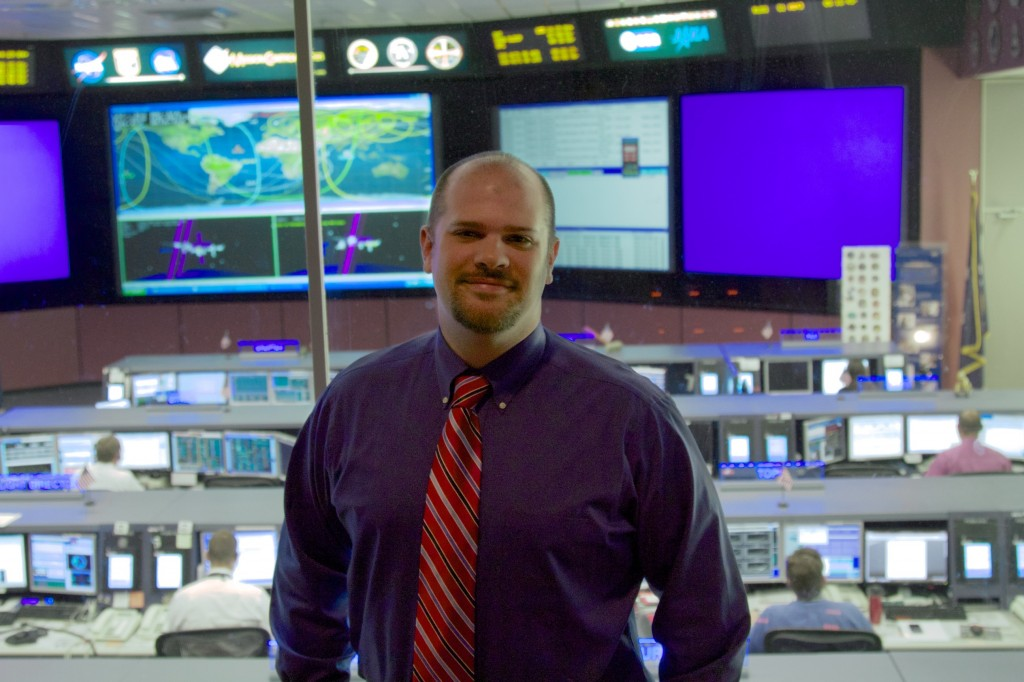 Josh Parris, ISS Flight Controller. Credit: Lee Hutchinson