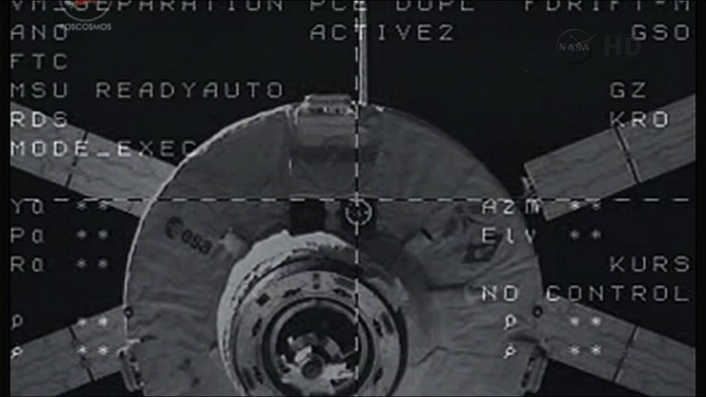 A nice day for undocking | Orion blog