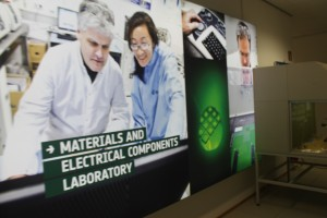 Materials and electrical components laboratory at ESTEC, The Netherlands