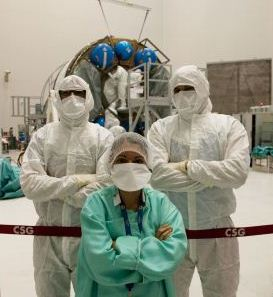ATV-5 disinfection team