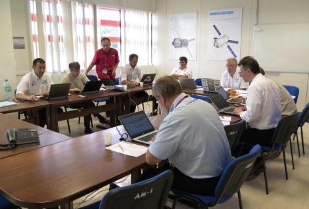 MIP-36 participants at Kourou