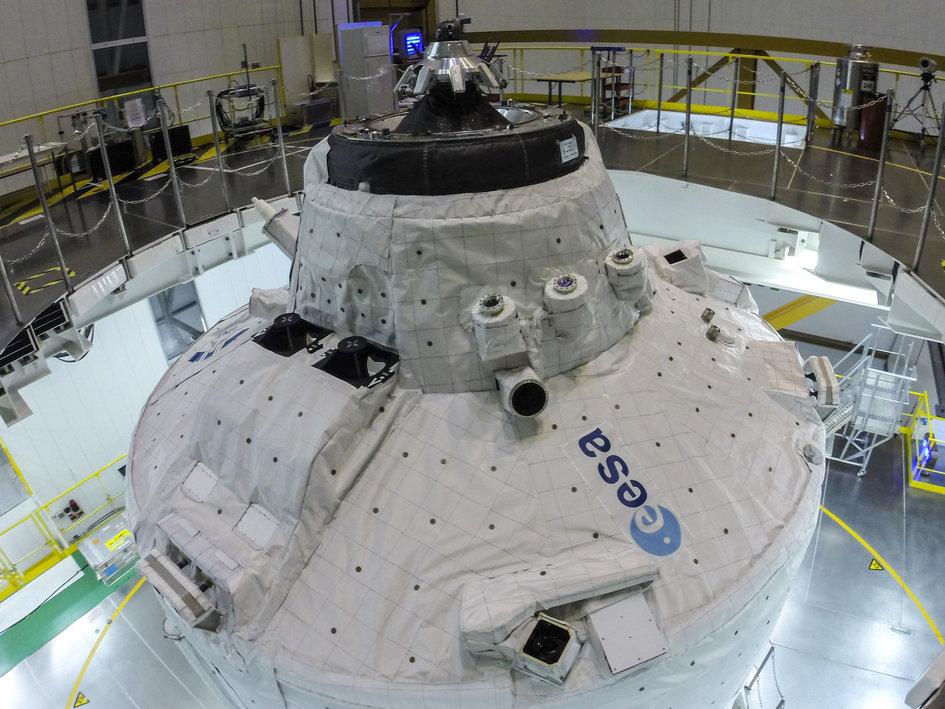 ATV-5. Credits: ESA–M. Pedoussaut, 2014
