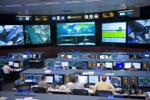 NASA ISS control room