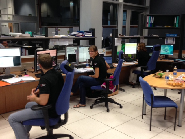 Then we have the all important Flight Dynamics Team without whom we would not be anywhere near the ISS. Credit: ESA