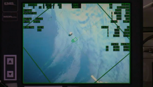 Dragon-4 seen from Space Station. Credits: NASA-TV