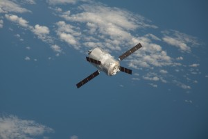ATV-3 approaches Station. Credits: ESA/NASA