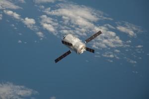 ATV-3 approaches Station. Credits: ESA/NASA