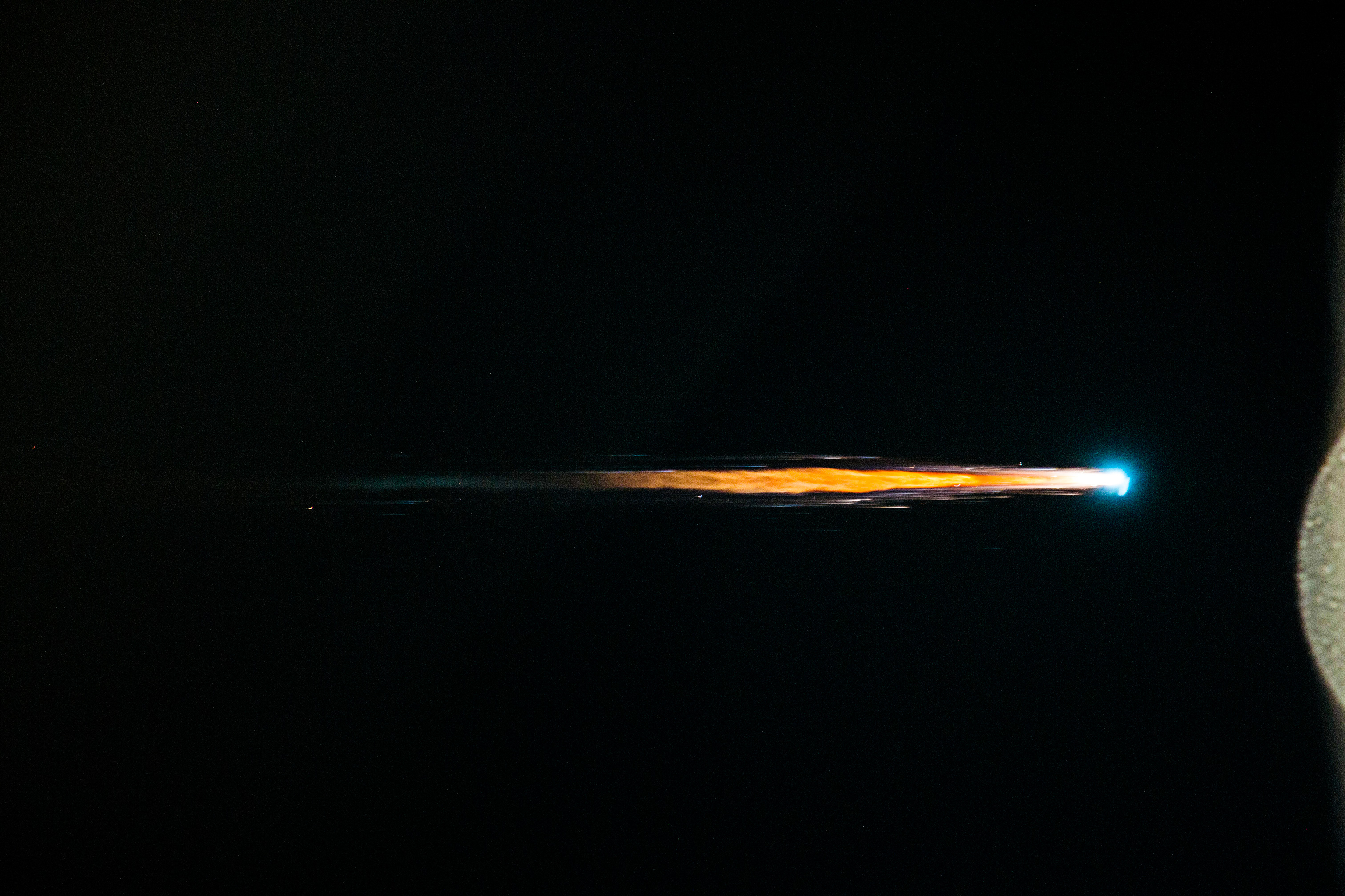 ATV-4 reentry in 2013. Credits: ESA/NASA