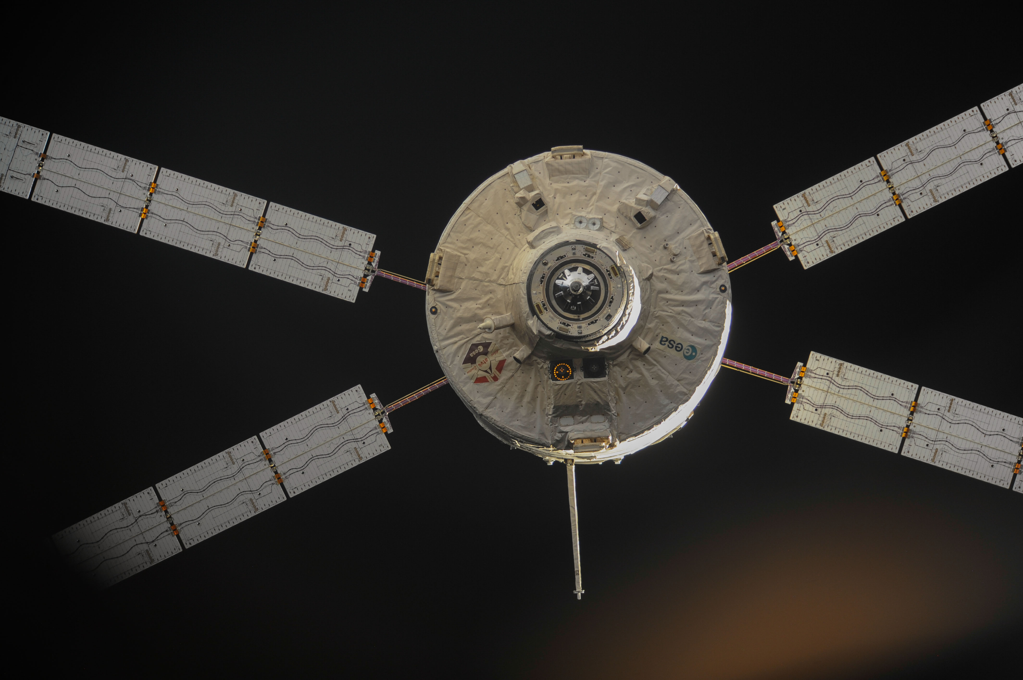 Issue on ATV-5 power chain number 4 | Orion blog