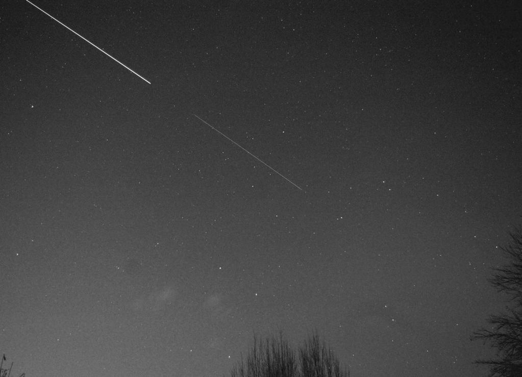 """AAW Darmstadt e. V. @AAW_Darmstadt """"Die #ISS und der voran fliegende, abgekoppelte europäische Raumtransporter #ATV5 am Samstagabend über Darmstadt"""" Germany"""