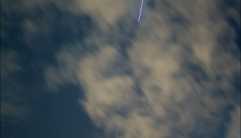 "Marco Langbroek via email ""ATV-5 was easy to see with the naked eye, even amidst clouds"" Leiden, The Netherlands"