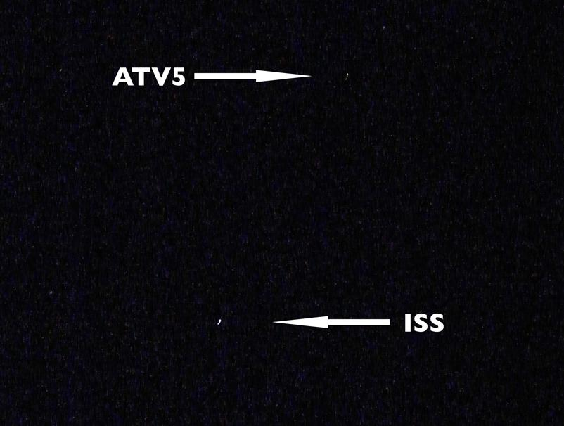 """@KmunityOfEquals """"Fare the well #ATV5 …Pic yesterday evening #Cornwall … #BigDive"""" UK"""