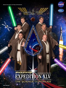 "Expedition 45 ""Return of the Jedi"" poster. Credits: NASA"