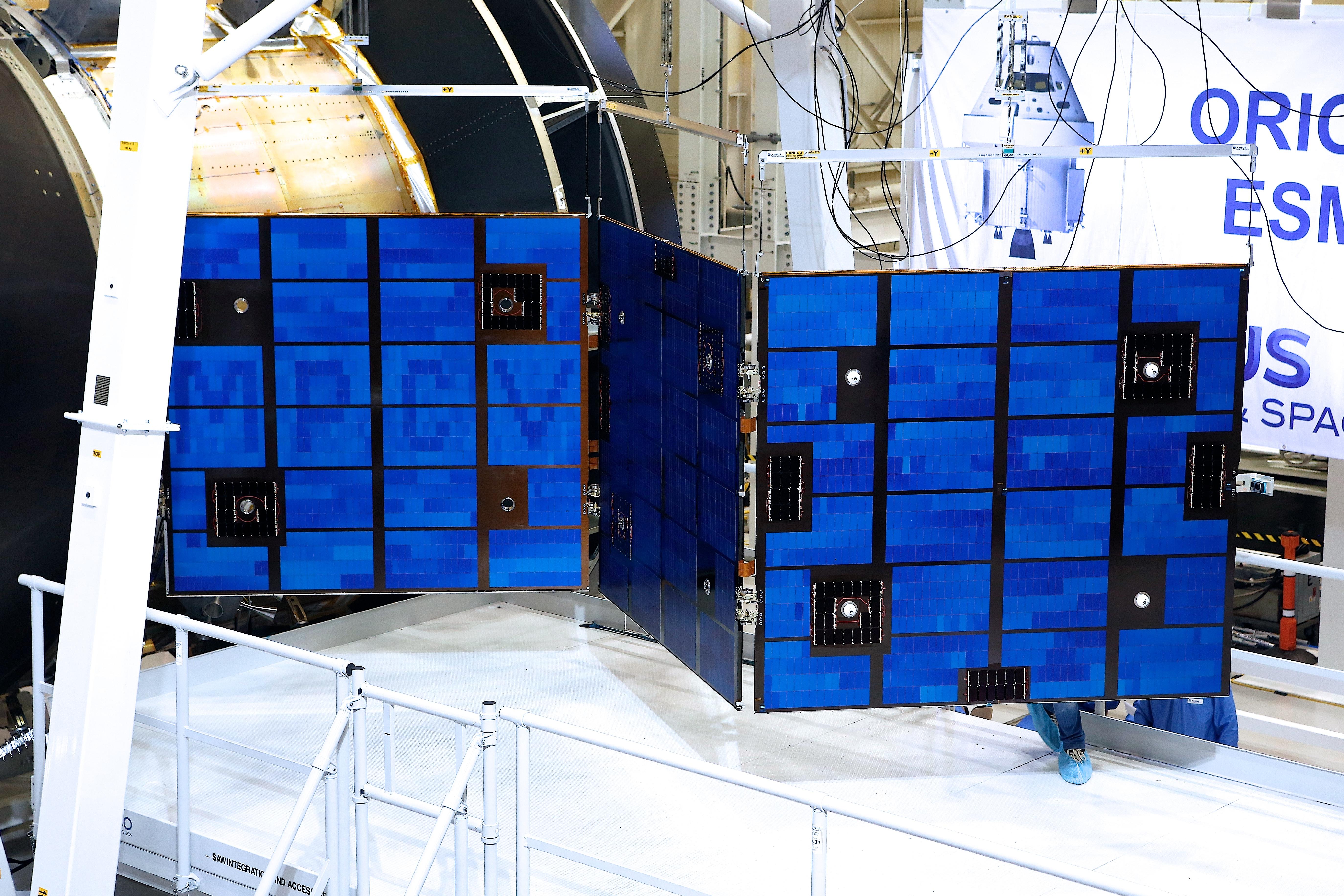 Orion European Service Module An International