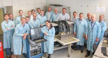 PDE Team in Bremen. Credits: Airbus DS