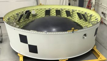 The Orion stage adaptor flight hardware ready to travel to NASA's Kennedy Space Center in Florida. Credits: NASA