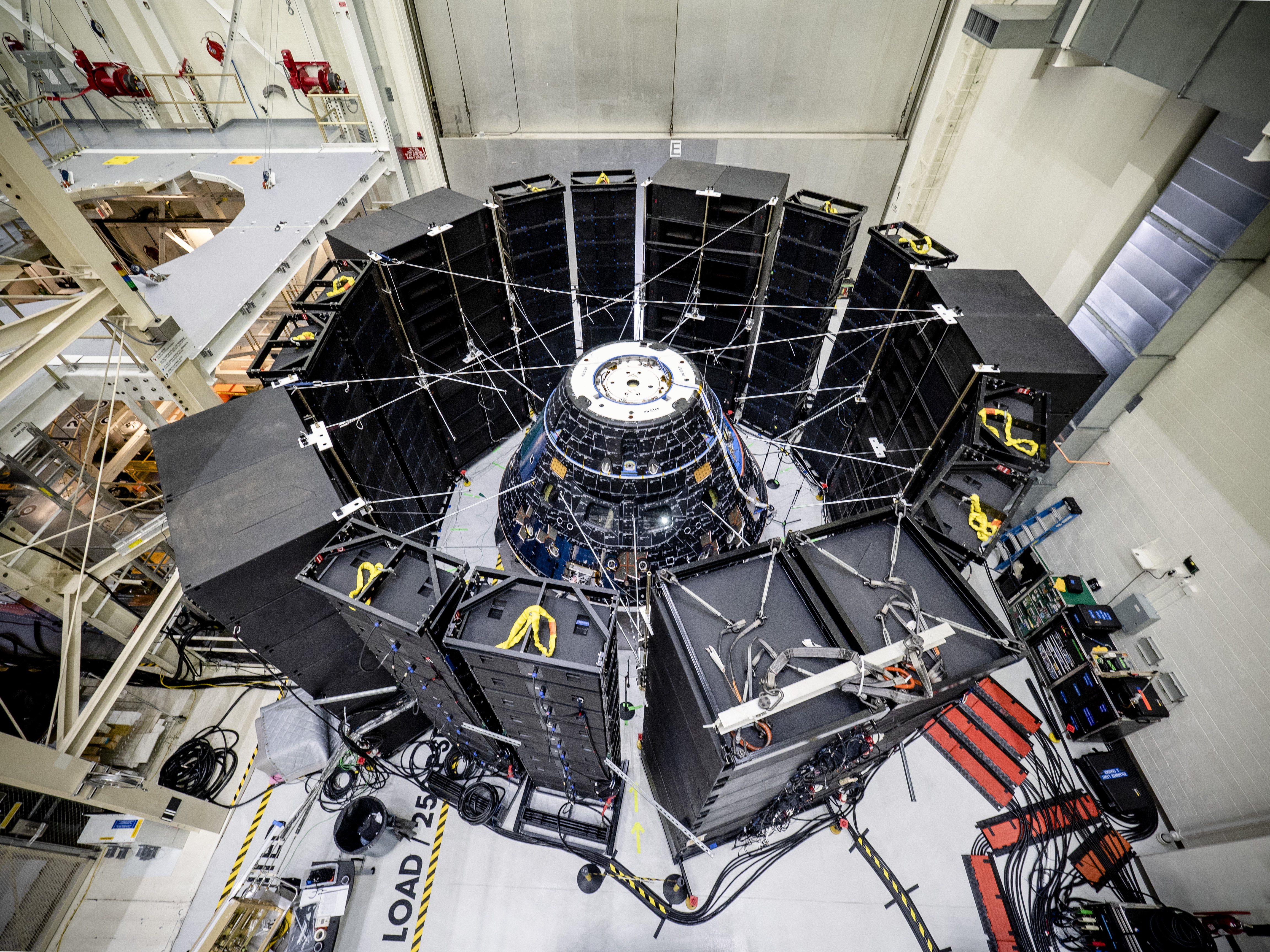 Solar wings installed and acoustic testing – Orion blog
