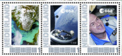 Special edition stamp set to mark start of PromISSe mission