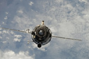 The Progress spacecraft delivers over 2000 kg of supplies