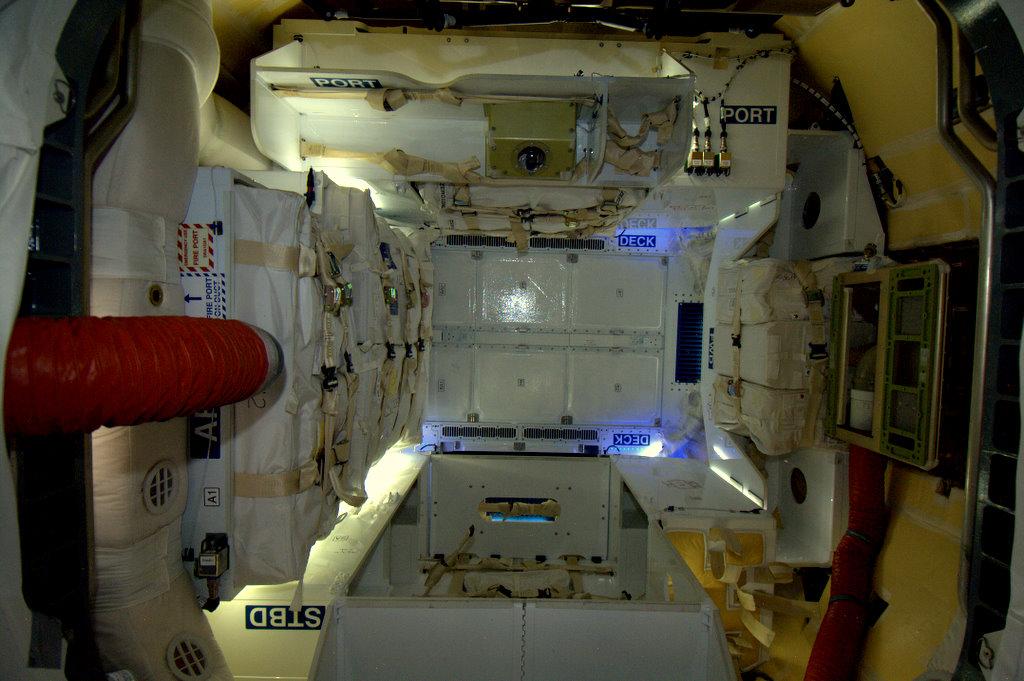 nasa spacecraft interior - photo #6
