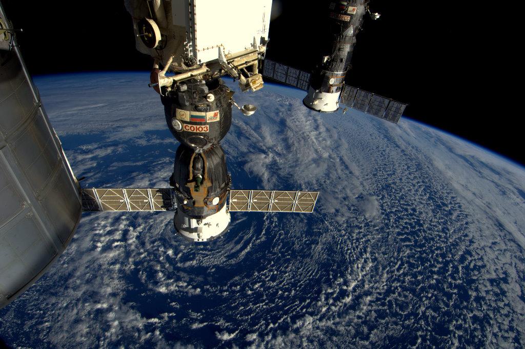 Soyuz TMA-03M (Credit: ESA/NASA)