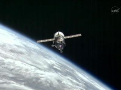 Soyuz TMA-03M undocks from ISS