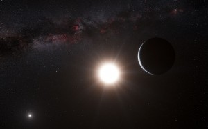 A planet around Alpha Centauri B
