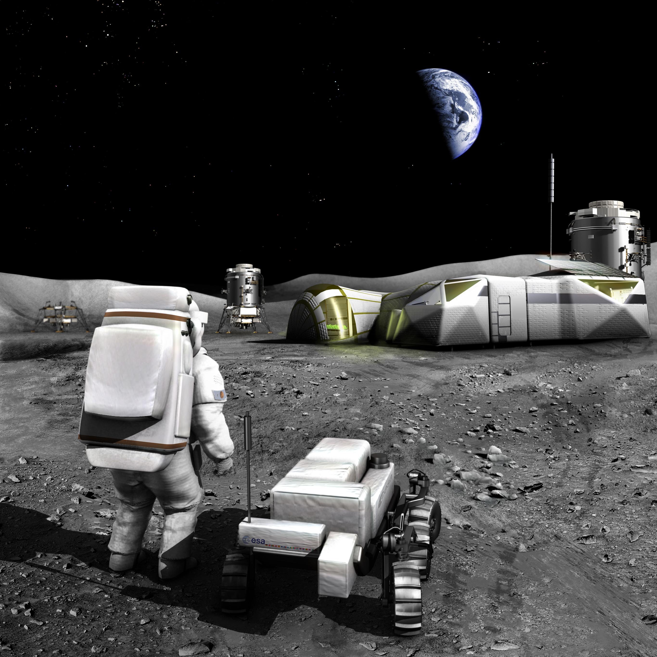 International Moon Base