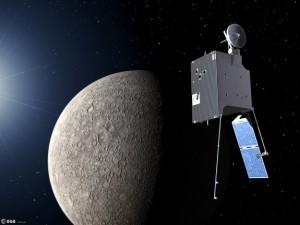 Artist's impression of BepiColombo Credit: ESA/P. Carill
