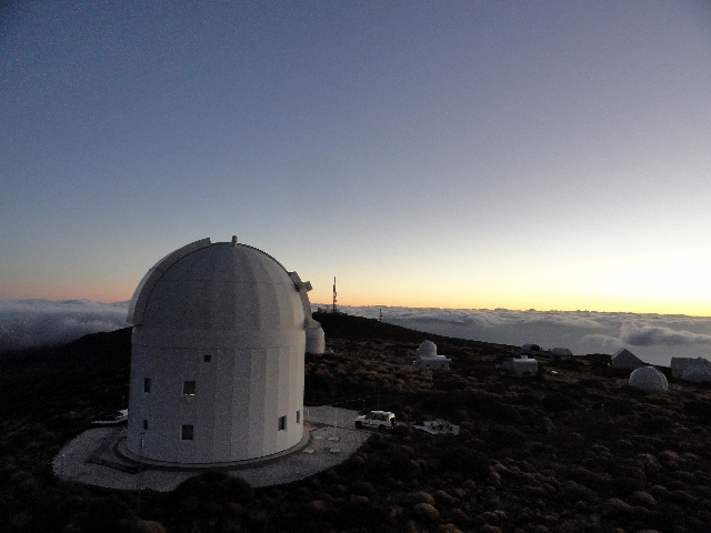 ESA Optical Ground Station, Tenerife, Spain