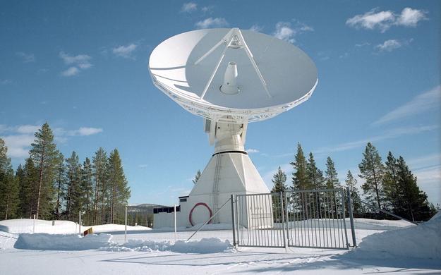 Estrack Kiruna station, Sweden. ESA-S.Corvaja