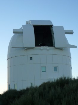 ESA's Optical Ground Station, Tenerife. Credit: ESA