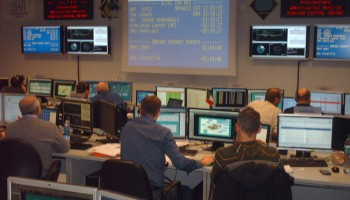 IXV simulation at MCC Altec Turin 6 Feb Credit: ESA