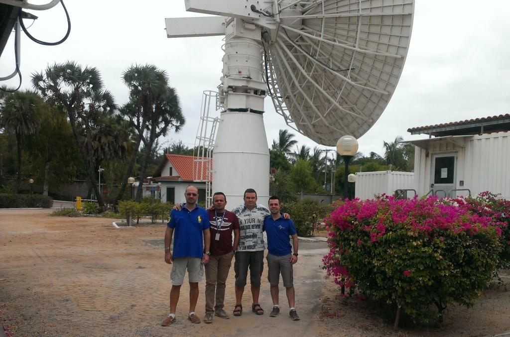 IXV team at Malindi, Kenya